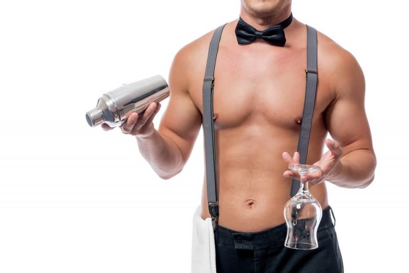 Få en fræk aften med en mandlig stripper